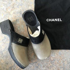 Chanel Vintage Mules Clogs Shoes